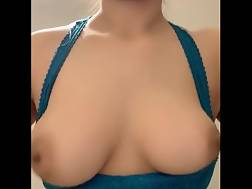 3 min - Hard huge boob squeeze
