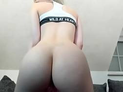 12 min - Hot tiny blondie showing