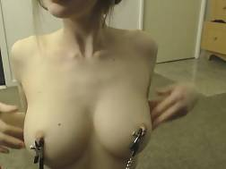 10 min - Breasts nipple clamps