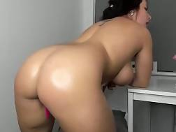 6 min - Curvy huge backside teasing