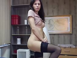 16 min - Awesome legs stockings toy