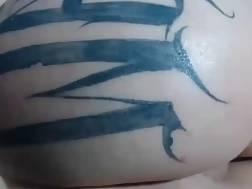 14 min - Busty tattooed hispanic girlie