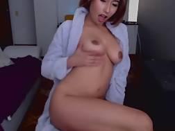 7 min - Asian hispanic jizzing boobies